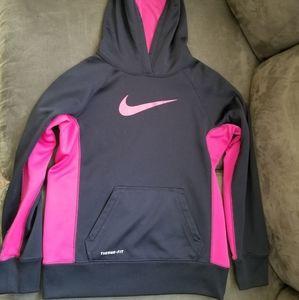 Nike Girls size M (10/12) Thermafit hoodie